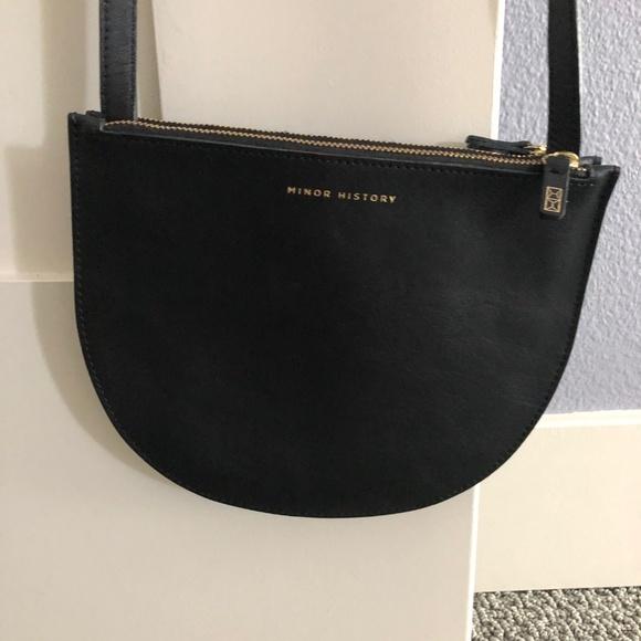 Minor History Handbags - Minor History - Half Moon Crossbody Bag